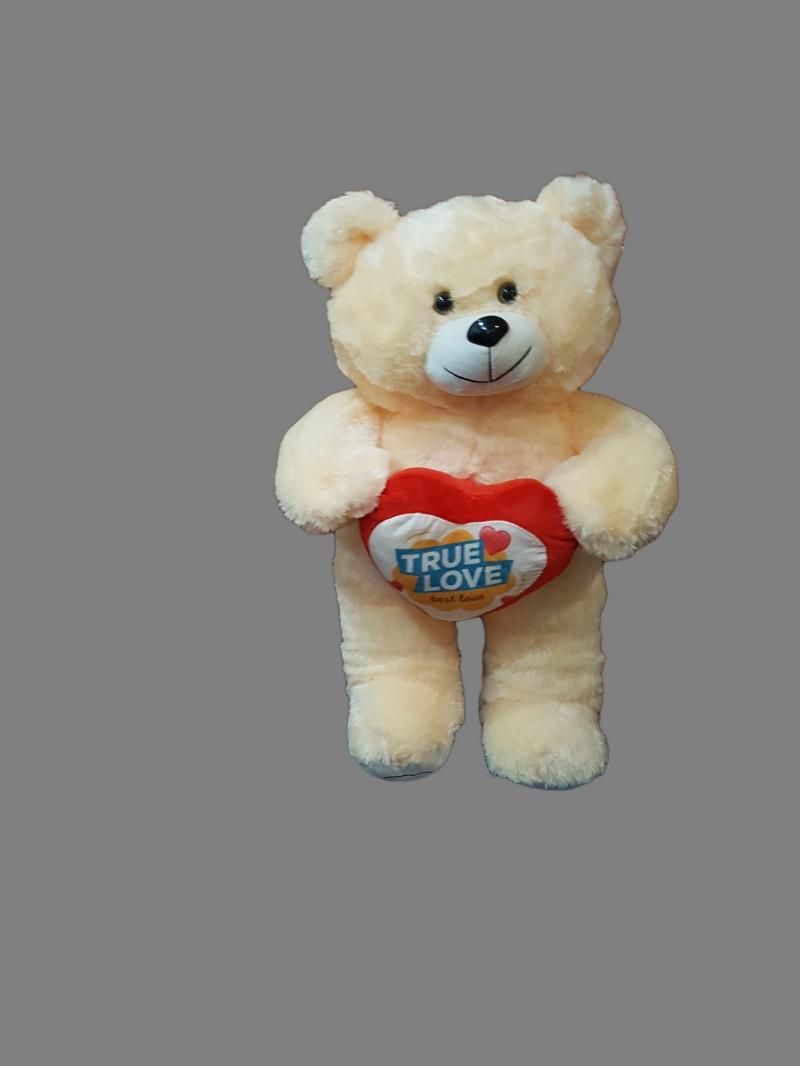 Медведь с сердцем 65см
