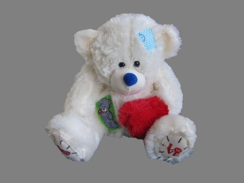 Медведь Тедди маленький 30 см